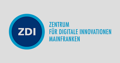 ZDI Zentrum für Digitale Innovation Mainfranken Logo