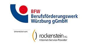 Berufsförderungswerk Würzburg und Rockenstein Logos
