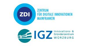 Kooperation IGZ Wuerzburg_ZDI Mainfranken bei der Wuerzburg Web Week 2019 Logo