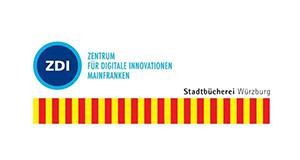 Logos Stadtbücherei Würzburg ZDI Mainfranken