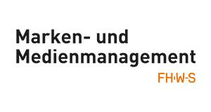 M3ve Masterstudiengang Marken und Medienmanagement Hochschule Würzburg Logo