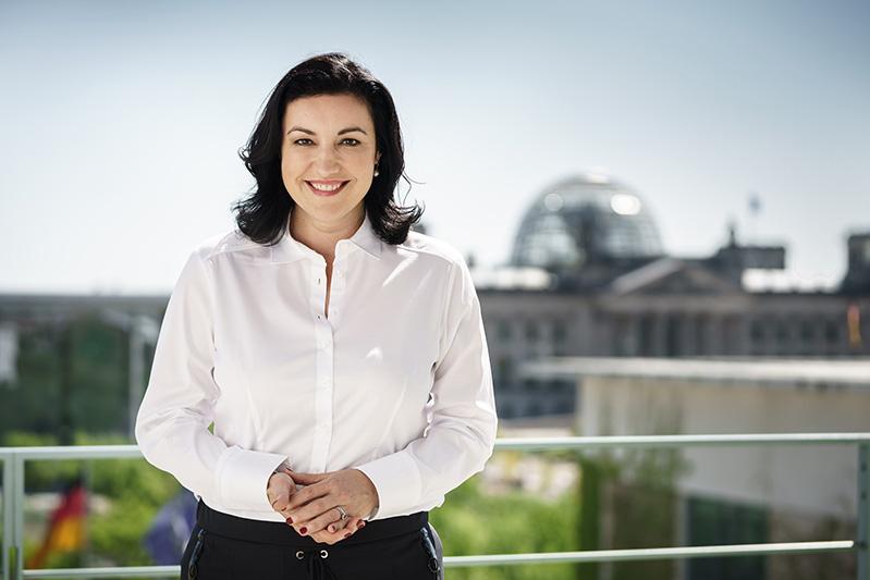 Dorothee Bär Schirmherrin Wuerzburg Web Week 2019 taatsministerin bei der Bundeskanzlerin und Beauftragte der Bundesregierung für Digitalisierung