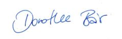 Unterschrift Dorothee Bär Staatsministerin bei der Bundeskanzlerin und Beauftragte der Bundesregierung für Digitalisierung Schirmerrin Wuerzburg Web Week 2019