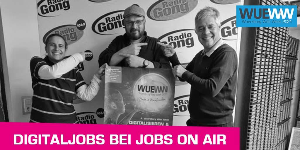 Teaserbild Digitaljobs bei Jobs on Air