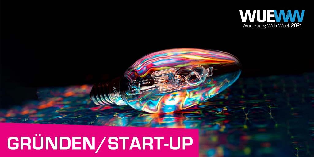 Teaserbild Gründungs- und Startup-Themen bei der WueWW2021