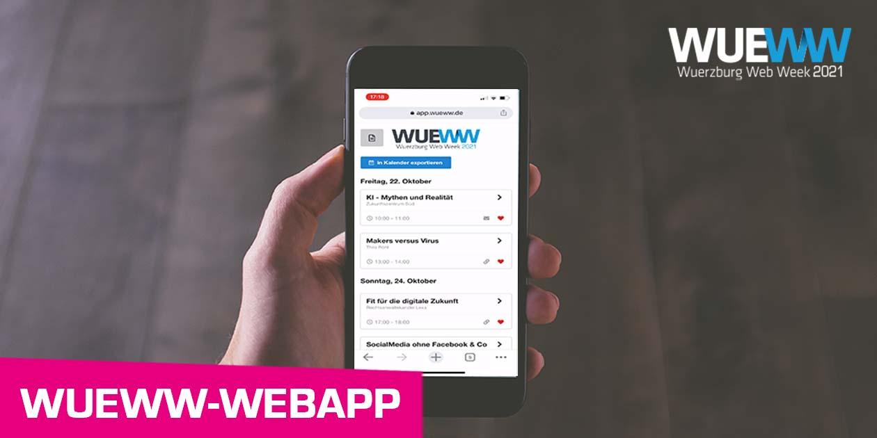 WueWW WebApp Teaserbild